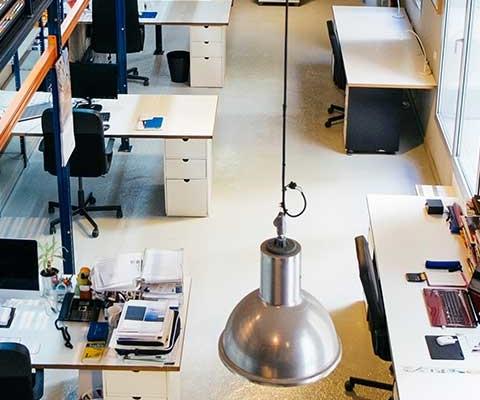 Diseño de los espacios en un coworking